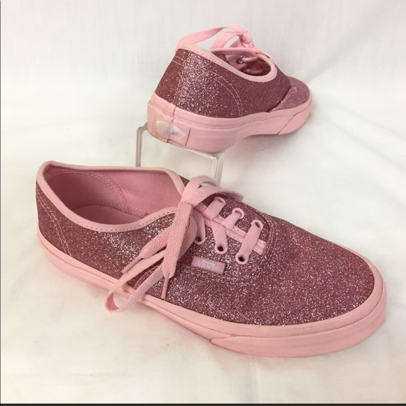 Vans Shoes | Off The Wall Glitter Pink